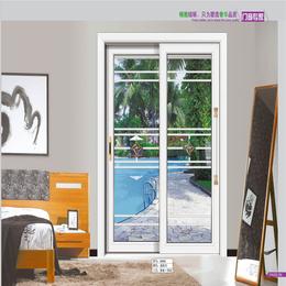 白色高贵铝合金玻璃门 推拉门销售缩略图