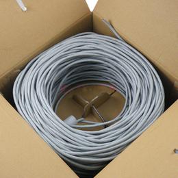 冲皇冠亏本卖超五类网线300米电脑网络双绞线厂家直销四铝四铁