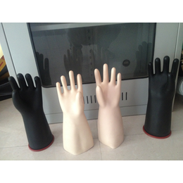 唐山五指橡胶手套 电工绝缘手套 绝缘橡胶手套价格 冀航电力