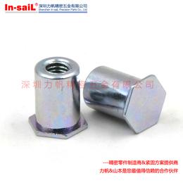 环保蓝白锌压铆螺钉螺栓 压铆螺丝 压板螺钉 压铆螺柱