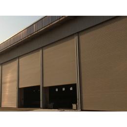 南昌明和工业门电动卷帘门钢质卷帘门快速提升门