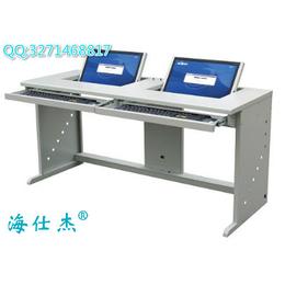 阳江海仕杰桌面云电脑桌价格 迷你主机电脑桌厂家