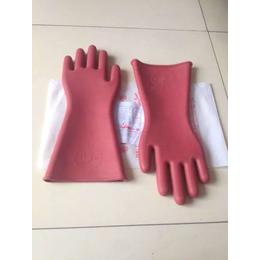 石家庄电工专用高压绝缘手套 绝缘橡胶手套 橡胶手套 冀航电力