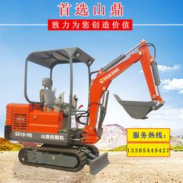 山鼎小型挖掘机液压履带式小型挖掘机价格