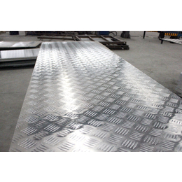 国标5A06船用铝花纹板 5A02五条筋花纹铝板 防滑铝板