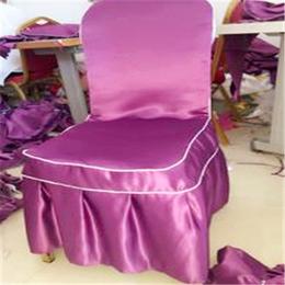 定制酒店餐厅餐桌餐椅坐垫会议厅椅套餐椅套定做连体椅套缩略图