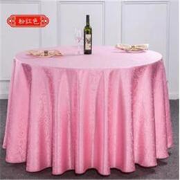定做椅套 宴会婚庆酒店桌布 餐厅家用餐桌台布涤纶提花