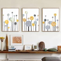 蘑菇堡 抽象树装饰画
