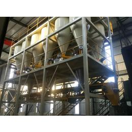 鋼鐵行業生產好伙伴鋼鐵保護渣全自動配混供料系統