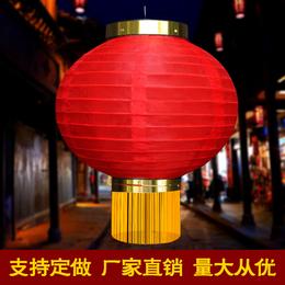 日韩式折叠灯笼拉丝圆灯笼加印各种LOGO连串红灯笼专业定