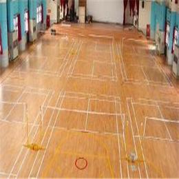 北京欧氏地板新款运动实木地板