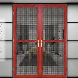 金钢网门窗成品定做   平开门缩略图