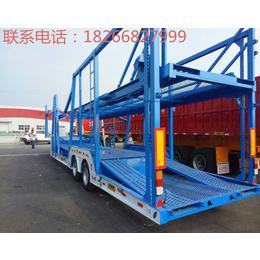 车辆运输半挂车 轿运车 车身为杆件 结构轻盈挂车定制销售