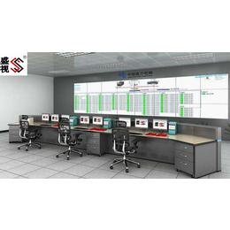 110指挥中心大厅 路政监控指挥中心调度台   监控操作台