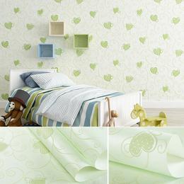 儿童壁纸 温馨公主房客厅  女孩卧室婚房墙纸
