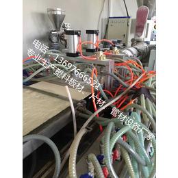 供应厂家直销竹木纤维集成快装墙板生产线