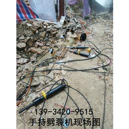愚公斧劈裂机新疆阿勒泰生产厂家