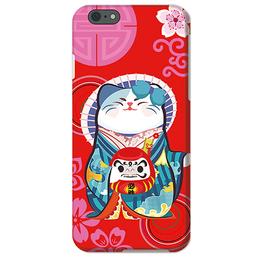 信拓 苹果X手机壳新款 iphone8招财猫创意手机保护套