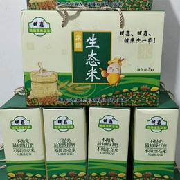 明嘉农业 尔康生态米不抛光最初级打磨不做漂亮米只做放心饭