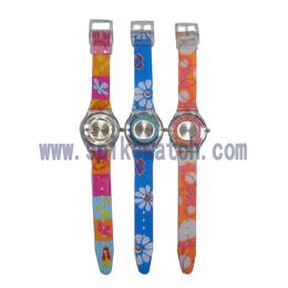 优质手表厂家生产定制时尚三叉款斯沃琪手表