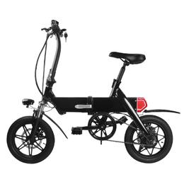 梦客 14寸续航远 电动自行车 自行车 折叠电动车 越野车