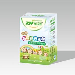 婴儿辅食 蛋黄双歧因子有机营养米粉缩略图