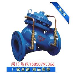 金钛JD745X DN400高性能隔膜式多功能水泵控制阀