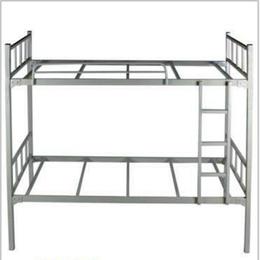供应厂家直销学生铁架床上下铺 美观耐用学生宿舍双层铁架床价格