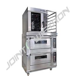 联合纬创系列 两层四盘电烤箱+5盘热风炉缩略图