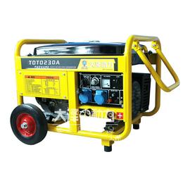 230A汽油发电焊机+焊接5.0以下焊条