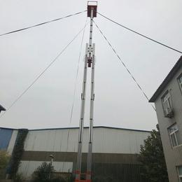16米升降机 武汉<em>商场</em>维修升降车报价 16米铝合金升降平台
