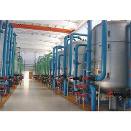 华浦水处理qy8千亿国际中的机械过滤装置+西北水处理生产创新基地