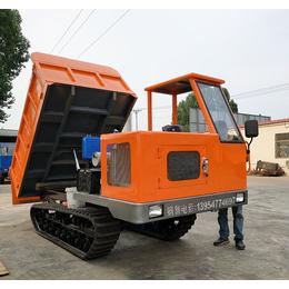 八个轮子工程橡胶履带运输车济宁格林伟瑞制造