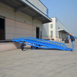 8吨移动登车桥报价 星汉****8吨登车桥供应厂家