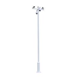 厂家直销小区监控立杆 道路枪机球机监控立杆摄像机支架可定制