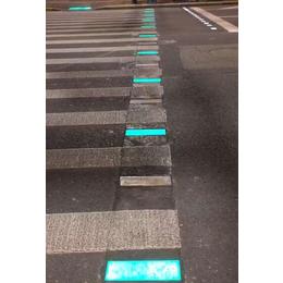 LED信号斑马线地灯 发光智能斑马线 红绿灯同步