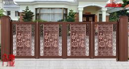 别墅悬浮折叠门+威海悬浮折叠门公司-久瑞门业