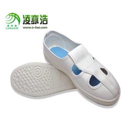 供应厂家15年专注的防静电鞋 定制防静电鞋 防静电四眼工作鞋