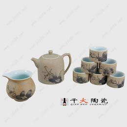 景德镇高档陶瓷茶具套装厂家直销
