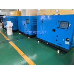 静音箱发电机组30千瓦低噪音潍柴WP2.3D33E200
