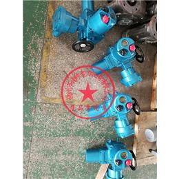 供应扬修电力隔爆型电动执行器F-DQB60-WT调节型