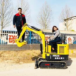 小型挖掘机价目 蔬菜大棚施工用的迷你挖掘机