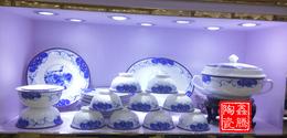 供应56头套装餐具 景德镇陶瓷厂家