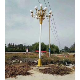 路灯灯杆-希科节能-小区路灯灯杆