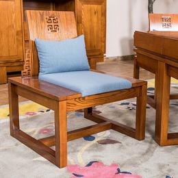 东莞展博家具茶椅新中式白蜡木纯实木批发ZB-10