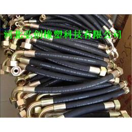 石家庄厂家专销低压胶管 加工钢丝缠绕胶管耐用 弘创牌耐磨胶管
