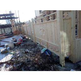 户外碳化防腐木栅栏围栏