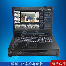19寸工业便携机工控一体机定制军工笔记本机箱加固电脑视频采集