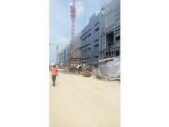 赣达钢铁与建筑厂房合作工地材料