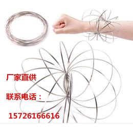 RingsFlow流动不锈钢环缠绕健身魔术手环现货大量批发